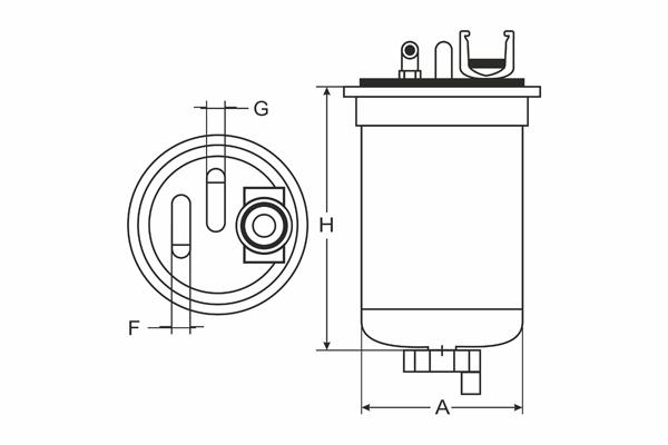 Meyle 3143230000/Fuel filter